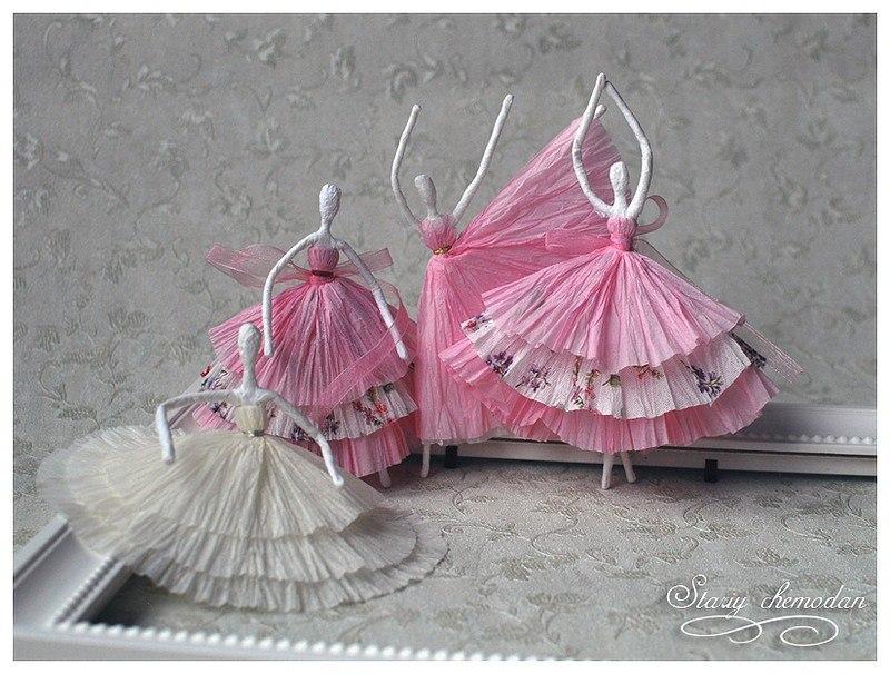 Поделки своими руками балерина