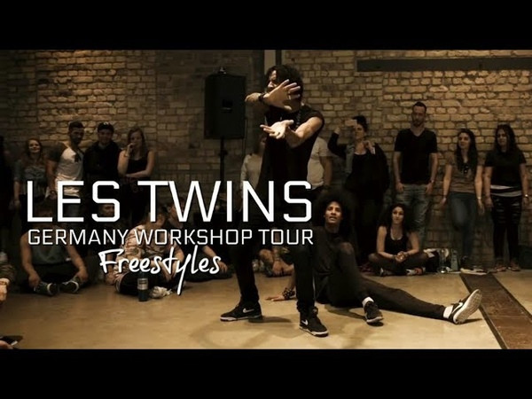 LES TWINS GERMANY WORKSHOP TOUR FREESTYLES