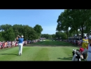 Суперточный удар гольфиста