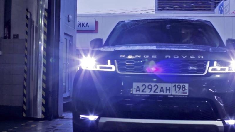 Установка активной выхлопной системы Eberspacher на Range Rover Sport в Рольф