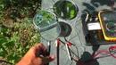 Солнечная батарея зеркала и линза