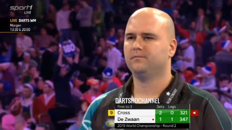 2019 PDC World Championship | Round 2 | Cross v de Zwaan
