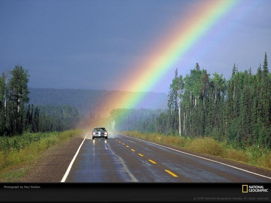 Где начинается радуга :)