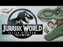 Jurassic World Fallen Kingdom Trailer Spoof TOON SANDWICH