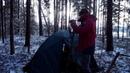 Как сделать зимнюю палатку с печкой из старой летней палатки