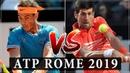 Rafael Nadal vs Novak Djokovic ATP Rome Open 2019