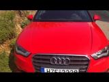 Rent a car. Audi convertible