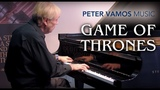 Game of Thrones - Main Theme Piano Cover by Peter Vamos