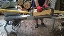 2 Łuparka rębak drewna klocki 50 cm mechaniczna własnej roboty rembak silnik 4kw PL 2018