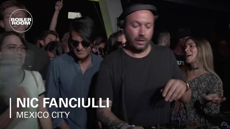 Nic Fanciulli classy Tech laced Mix Boiler Room Mexico City