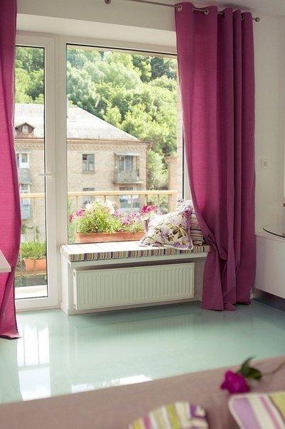 Вот такая идея малогабаритной однокомнатной квартиры.