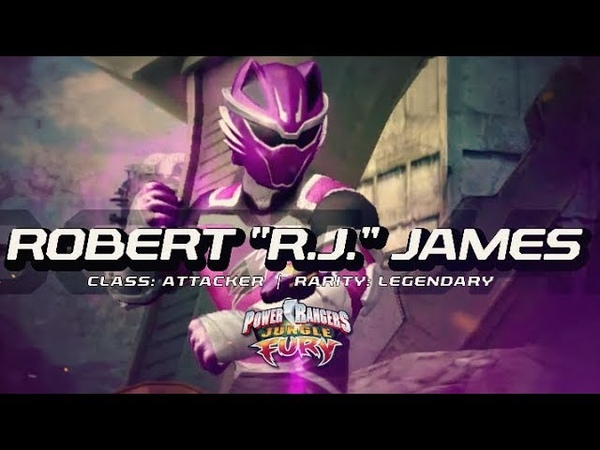 Power Rangers Legacy Wars Jungle Fury Robert RJ James Moveset