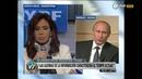 Cristina Kirchner en videoconferencia con Vladimir Putin incorporan RT a la TDA