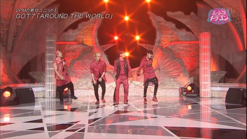 141025 GOT7 - Around the world @ Music Dragon