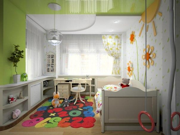 Дизайн детской 10 кв. м