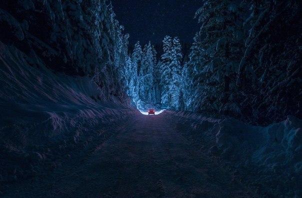 Дорога в ночь...