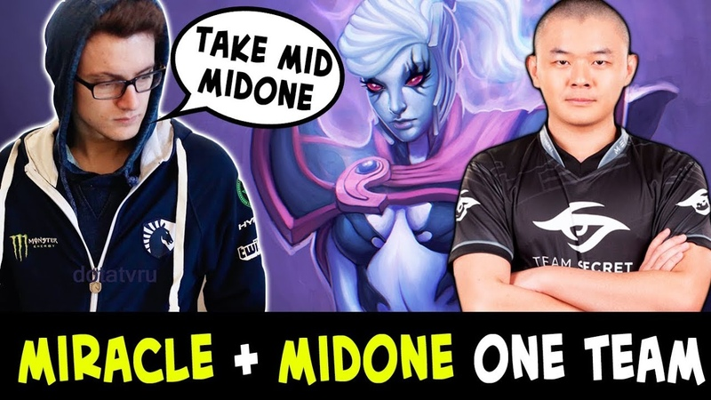 MIRACLE gives mid to MIDONE — TI8 stars ranked