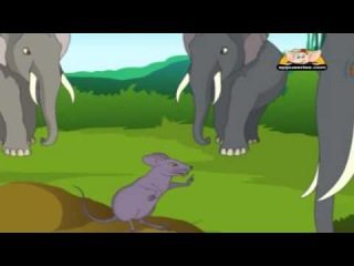 The Mice and the Elephant in Marathi - Panchatantra Tale