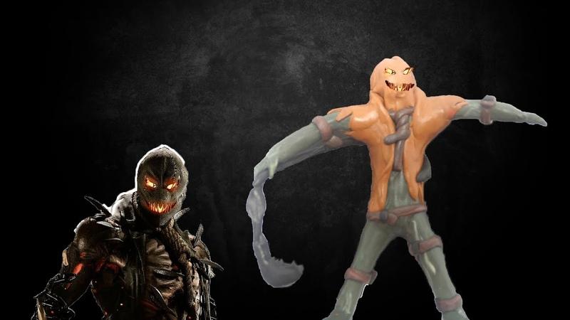 Scarecrow Injustice 2 Пугало Инджастис 2 смотреть онлайн без регистрации