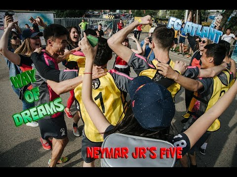 Way of dreams Part 1 (FC ATLANT Kazakhstan) Neymar jrs Five
