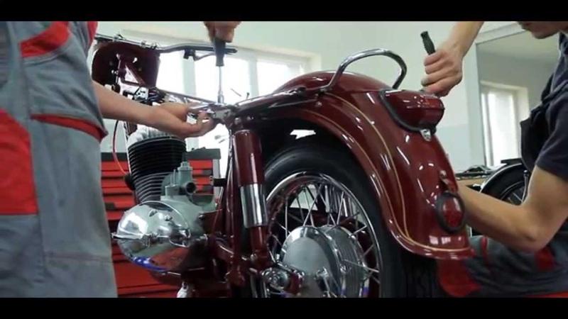 MOTOREN Renovácia JAWA 353