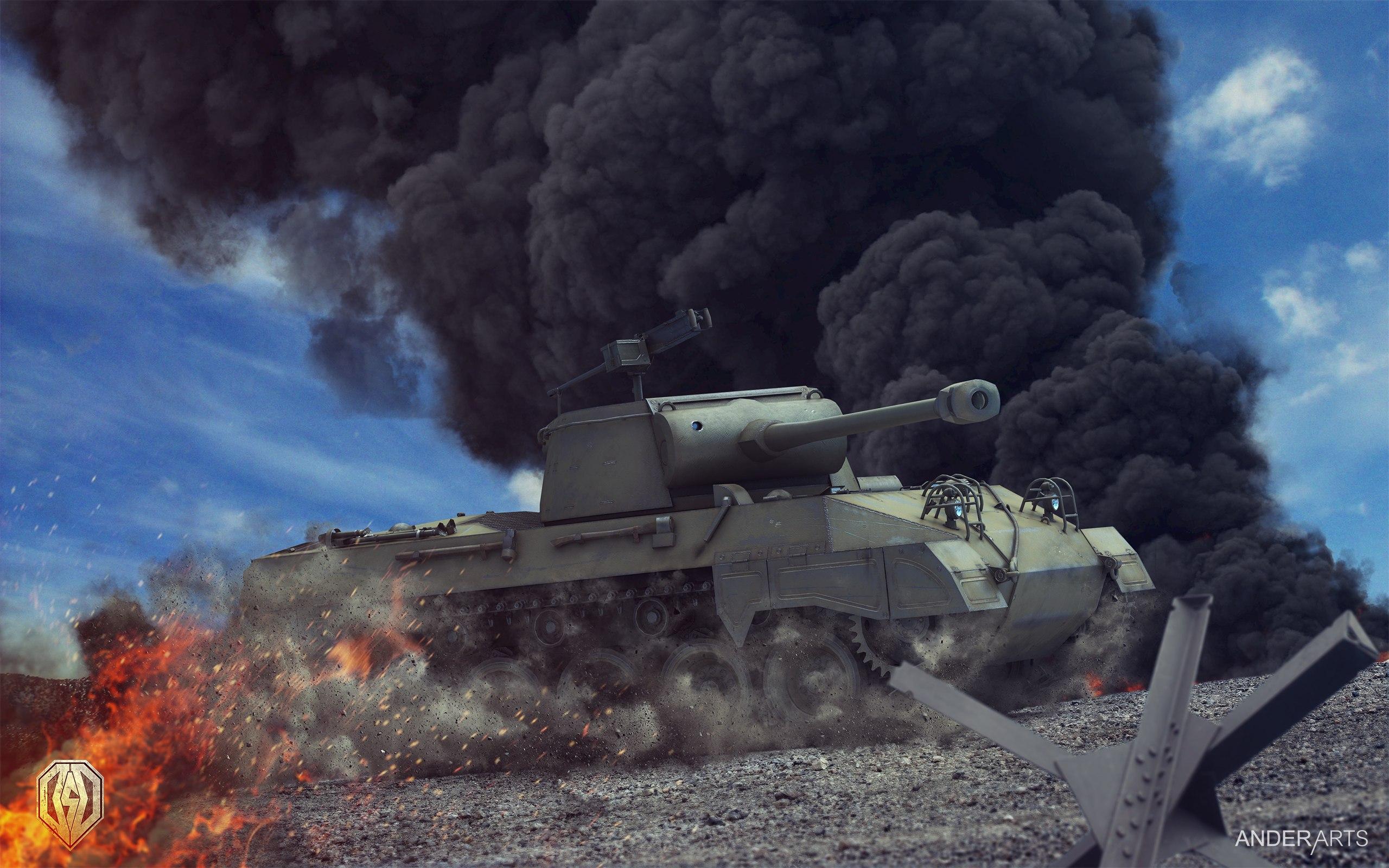рисунок истребитель танков Хеллкет