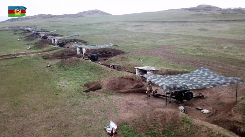 Artilleriya hərbi hissəsində xidmətin bir günü