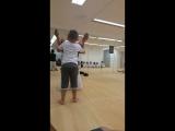 Seba na trenirowke. Taekwondo