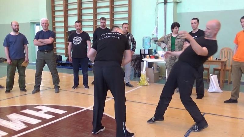 Работа рук в русском стиле рукопашного боя Принципы Техника Обучение Май 2019 Санкт - Петербург