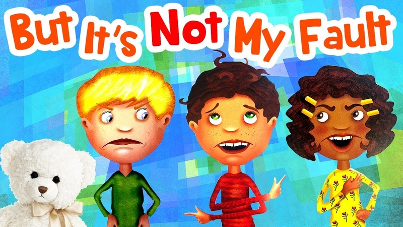 But its not my fault! by Julia Cook | Childrens Book Read Aloud | Storytime With Ms. Becky