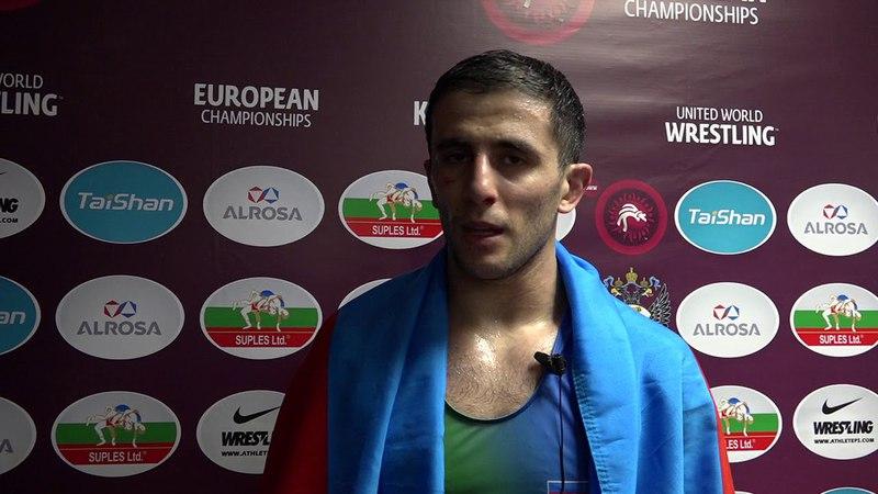 Rafiq Hüseynov Qızıl medal üçün gəlmişdim, bürüncə çox sevinmədim...