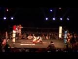 Hamuko Hoshi, Ibuki Hoshi vs. Makoto, Tsukasa Fujimoto (FREEDOMS - Homecoming Pro-Wrestling Style Ichinoseki Activation Plan! 20