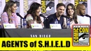 MARVEL s AGENTS of SHIELD Comic Con 2019 Full Panel Clark Gregg Ming Na Wen Chloe Bennet
