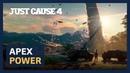 Разработчики Just Cause 4 выпустили ролик, который посвящен движку Apex