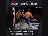 Брайан первым в истории UFC отправляет Фрэнки Эдгара в КО