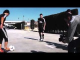 Messi meets the best street soccer players of the world