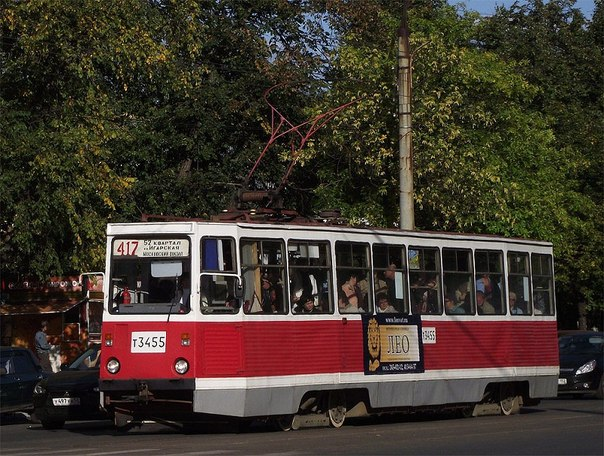 маршрут №417 «52 квартал