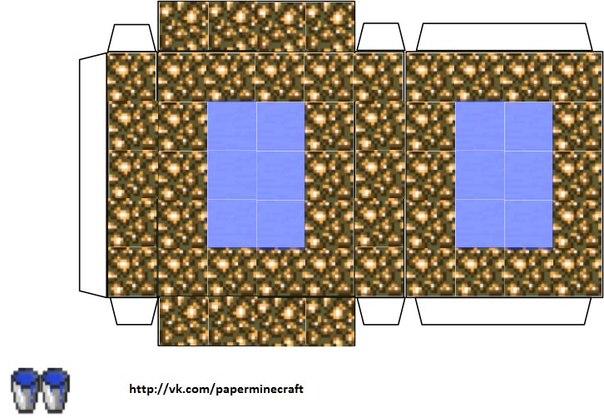 Бумажный Minecraft:). Портал