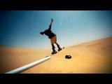 Сноубординг в пустыне  супер видео