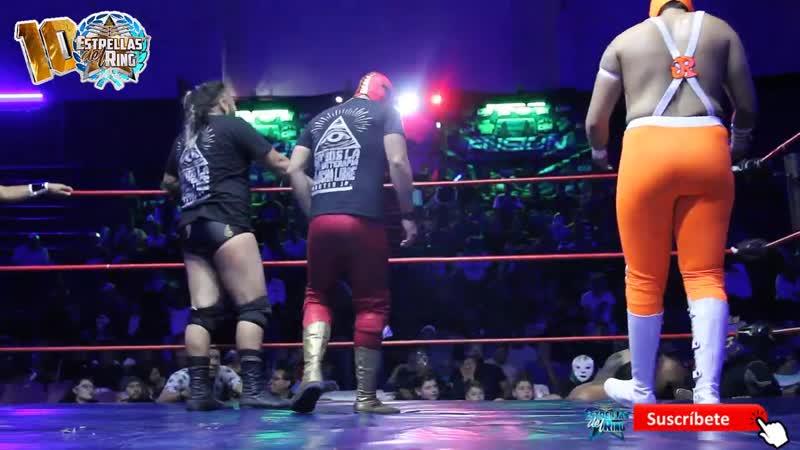 Dr. Cerebro, Cerebro Negro y Neza Kid vs Chacho Herodes Jr, Hijo de Sangre Chicana y Warrior Jr. (720p_30fps_H264-192kbit_AAC)