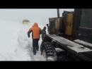 Эльга. Грейдер в снежном плену