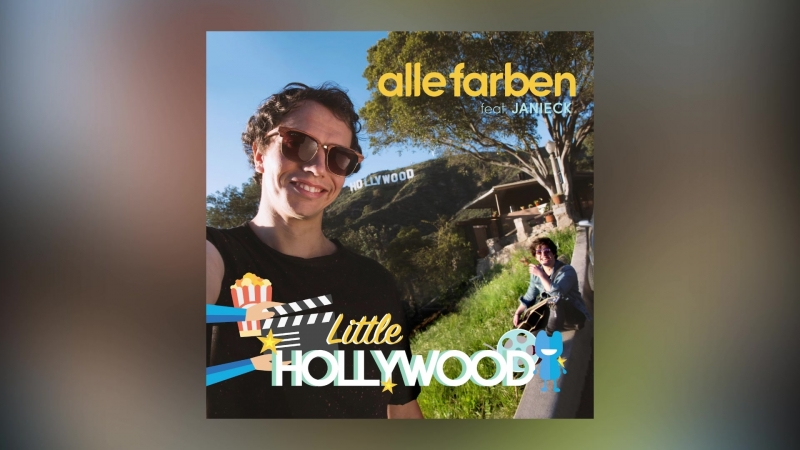 Alle Farben Janieck - Little Hollywood (Cover Art)