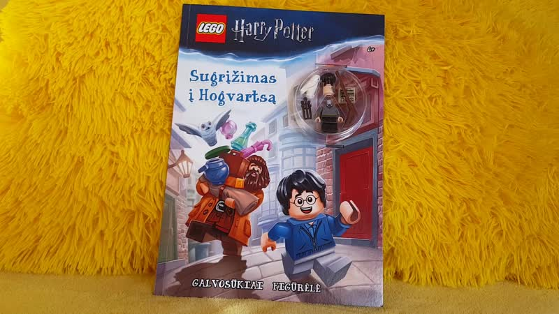 Lego Harry Potter Book With Harry Potter Minifigure ReviewЛего Гарри Поттер Книга с Минифигуркой