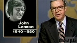 First report of the news on the killing of John Lennon NBC, United States