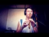 Игра на блок-флейте. Playing the flute block. Сіла птаха (1)