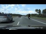 Медведь на мотоцикле-Обычный случай в России