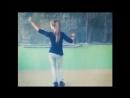 Танец типа Тверк у школьной доски (BIFFGUYZ – Чики Чики.бом бом)