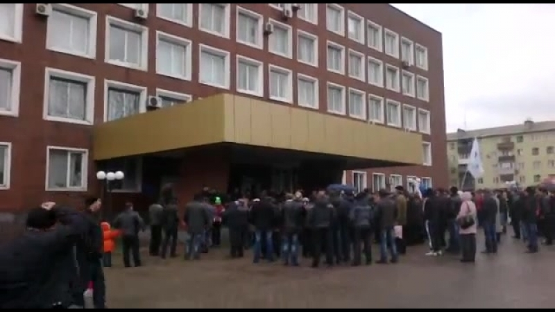 Митинг в Енакиево 13.04.2014