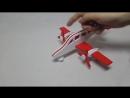 Самолёт двухмоторный Вираж цветной