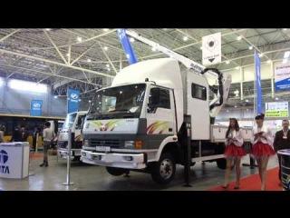 Выставка TIR'2014: автобусы ЗАЗ и грузовики Tata